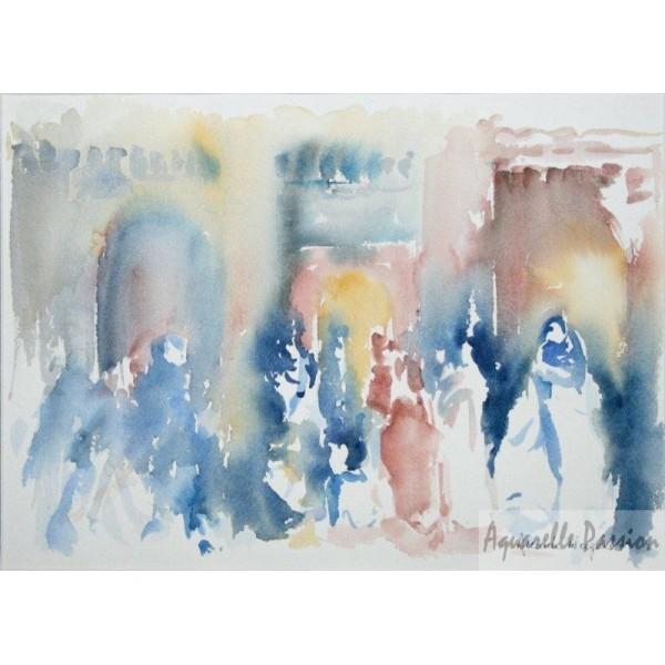 L 39 heure de la pri re aquarelle passion - Horaire de la priere lille ...