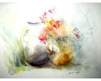 Bouquet flou